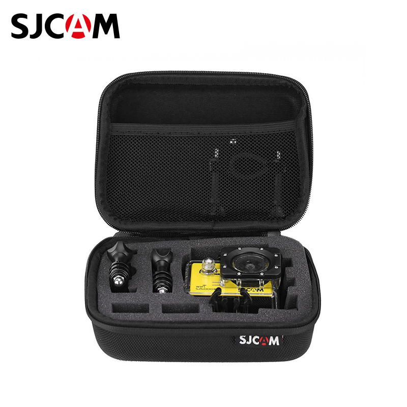 SJCAM ACTION CAMERA CARRY BAG (MEDIUM) action camera s m large size bag for gopro hero 5 4 sjcam accessories case for go pro sjcam sj4000 sj5000 sport camera