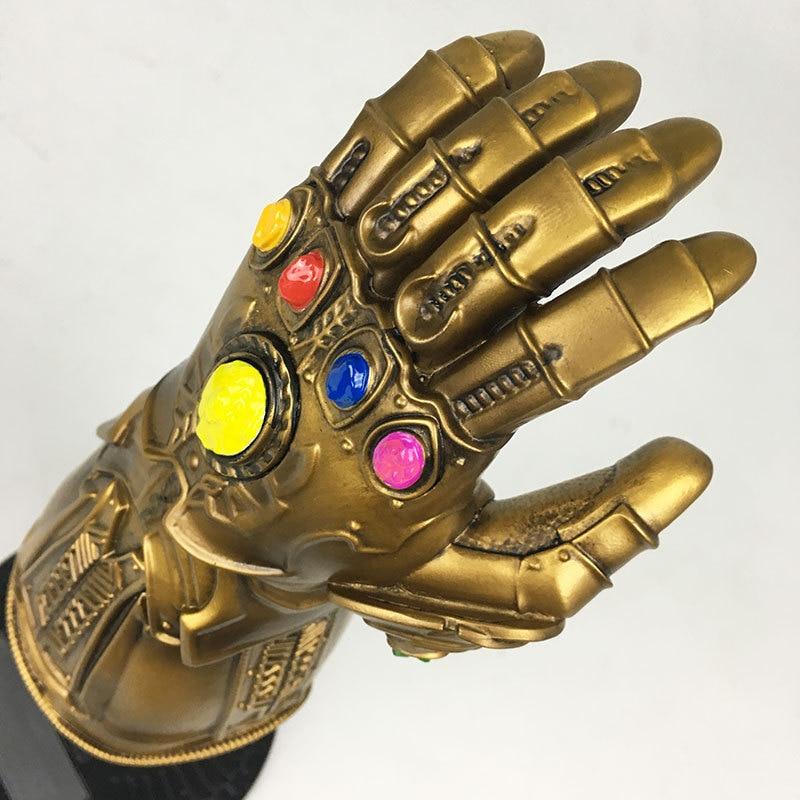 Les Avengers 3 Thanos Infinity gantelet gants Statues résine décoration maison Sculptures bureau jouet Avengers: Infinity War