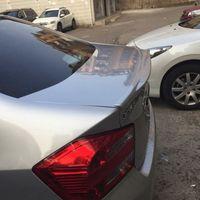 for honda2008 2014 model city spoiler High Quality ABS Material Car Rear Wing Primer Color spoiler civic lip spoiler