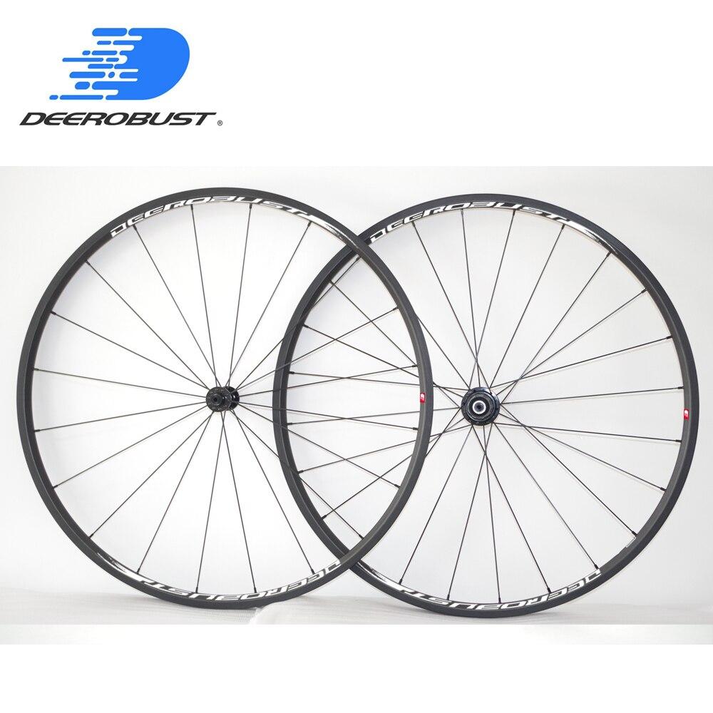975g FLT 700c 20mm x 23mm Tubulaire Carbone Vélo De Route Roues Roue De Bicyclette ensemble DR601 Hubs Pilier 1420 Rayons 20 24 Trous