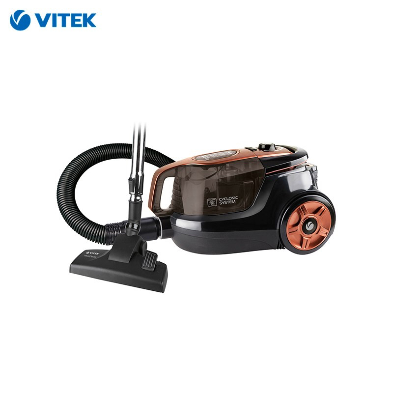 Vacuum cleaner Vitek VT-8117 BK dustcontainer vacuum cleaner vitek vt 8130 bk