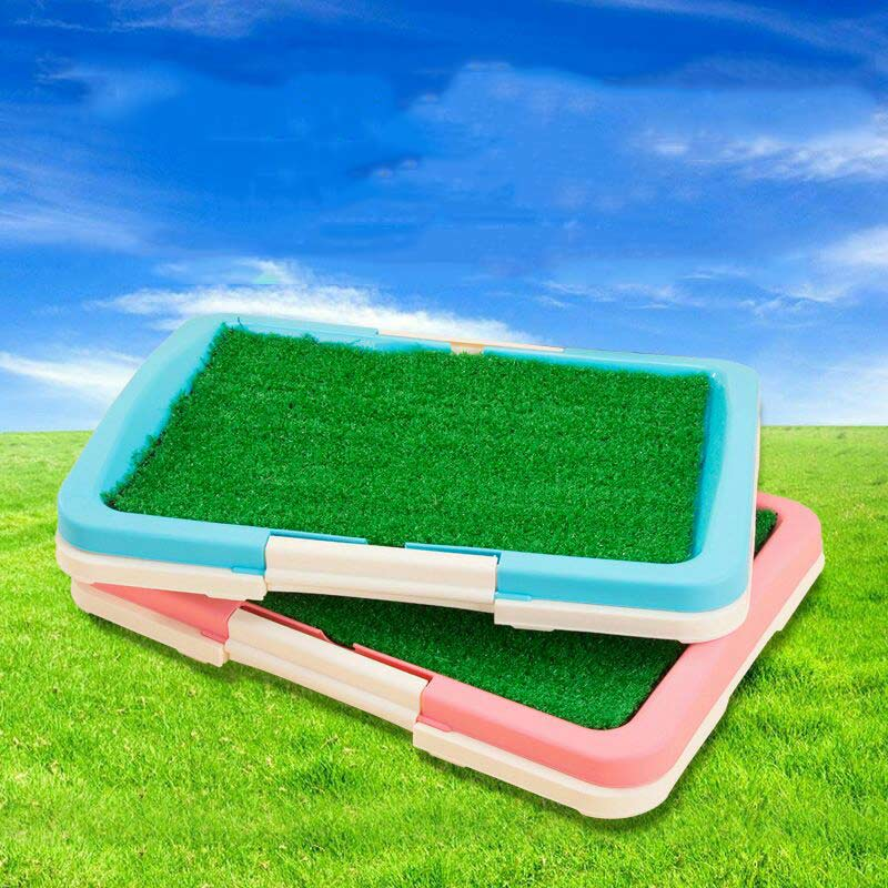 Hot Sale Toilet Mat Dog Training Supplies Potty Pad Cat Tray Toilet Training Urinary Trainer Grass Mat Pee Pad Patch Indoor E