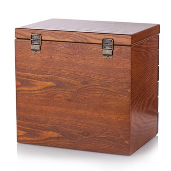 New Extra Large Wooden Jewelry Box Brown