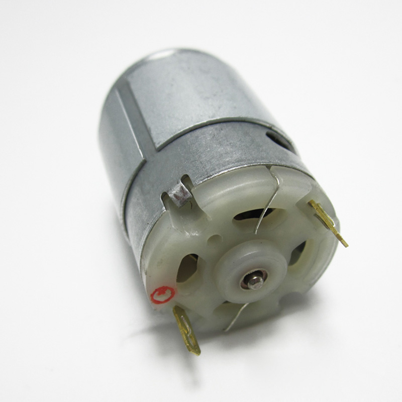 RS380 with gear electric car remote control toy DC drive motor electric car motorcycle small motor 12V in DC Motor from Home Improvement