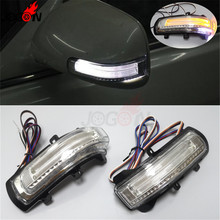 Для Toyota Camry 2007-2011 Corolla Altis Vios светодиодный боковое зеркало заднего вида, сигнальный светильник для поворота, освещение для парковки