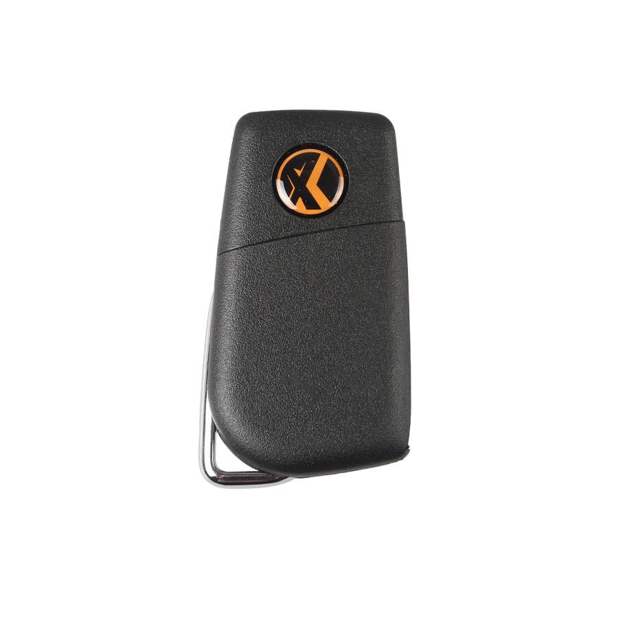Универсальный проводной дистанционный ключ XHORSE для Toyota, 3 кнопки, английская версия XKTO00EN, 1 шт.-1