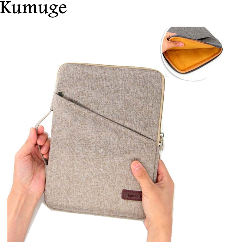 Soft Cotton for New iPad 9.7 2017 Released Shockproof Tablet Pouch Sleeve Bag for iPad Air 1/2 Pro 9.7 Tablet Cover Case+Pen for new ipad pro 10 5 2017 release shockproof tablet liner sleeve pouch bag for ipad 10 5 inch cotton tablet cover case pen gift