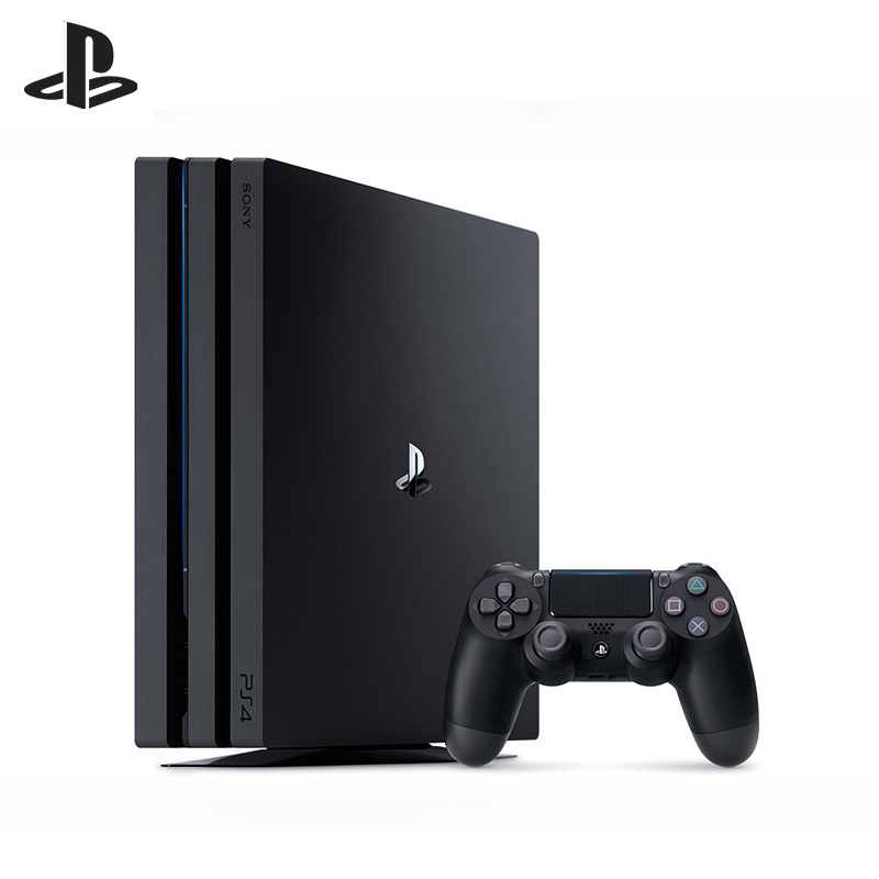Game console For Sony PlayStation 4 Pro 1TB Black (CUH-7208B) игровая консоль sony playstation 4 slim 1tb black cuh 2208b gran turismo sport god of war horizon zero dawn ce psn 3 месяца