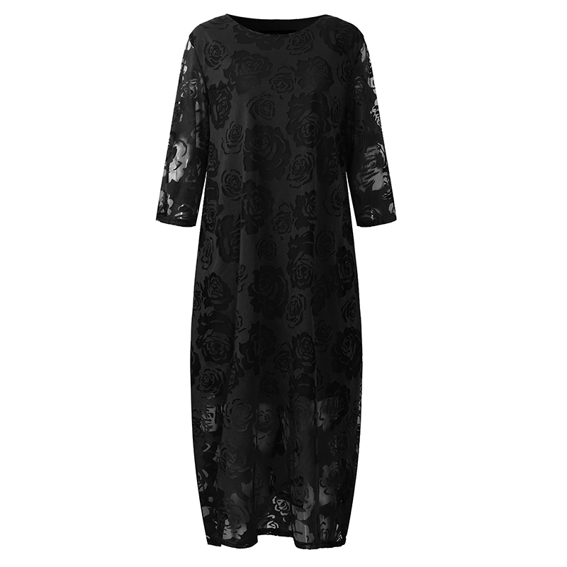 2018 Embroidery Maternity Clothing Loose Dresses Summer Twinset Lace Maternity One-piece Dress Maternity Dress For Pregnant