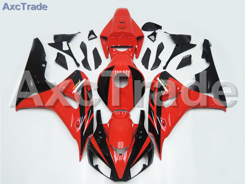 Motorcycle Fairings For Honda CBR1000RR CBR1000 CBR 1000 RR 2006 2007 06 07 ABS Plastic Injection Fairing Kit Bodywork Red Black abs injection fairings kit for honda 600 rr f5 fairing set 07 08 cbr600rr cbr 600rr 2007 2008 castrol motorcycle bodywork part