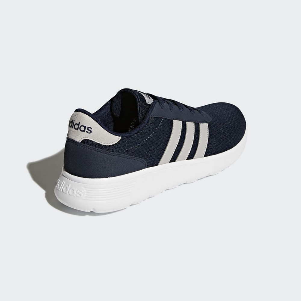 13a31372f1b Aliexpress.com   Buy Sneakers BB9775 ADIDAS SHOES lite racer White man blue  from Reliable Running Shoes suppliers on GalleryMall Store