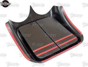 Image 4 - קונסולת על פנל קדמי עבור רנו Sandero 2009 2013 ABS פלסטיק ארגונית פונקצית כרית אביזרי סריטות רכב סטיילינג כוונון