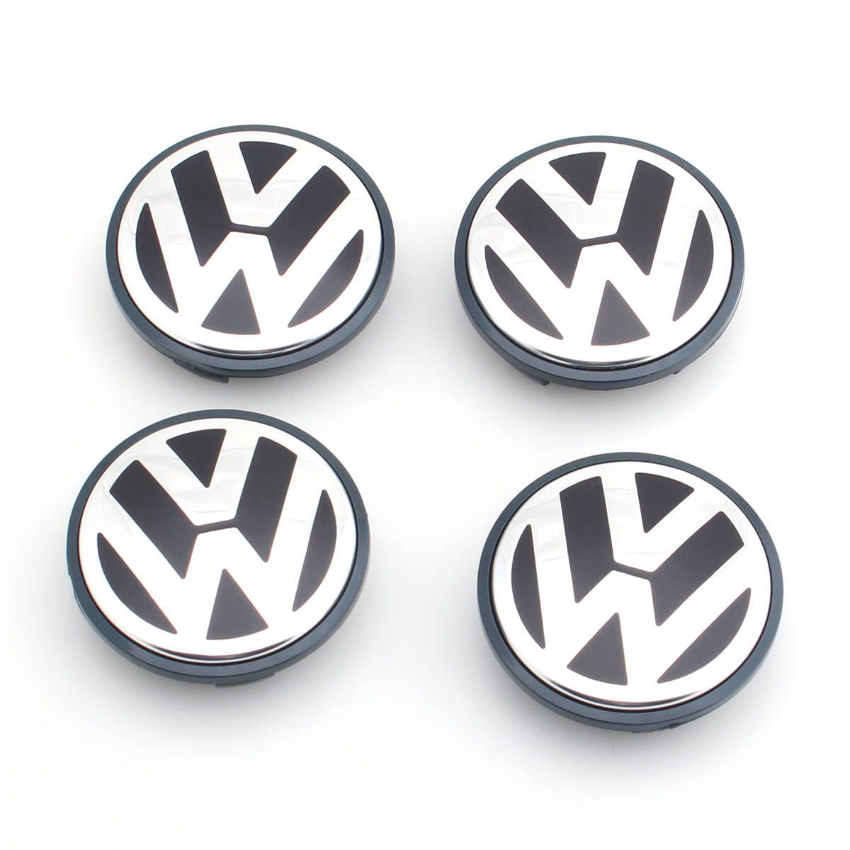4pcs set OEM 65mm Wheel Center Cap Logo Hub Cover Badge Emblem for VW Jetta MK5