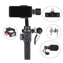 Zhiyun Smooth 4 Accessories Cold Shoe Adapter Ring microphone 100g Counterweight & 2 in 1 Adapter for iPhone