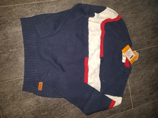 Boy's Spring And Autumn Cotton Sweater photo review