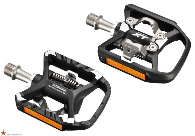 Shimano Pd T780 Self Locking Spd Pedals Components Using For Bicycle