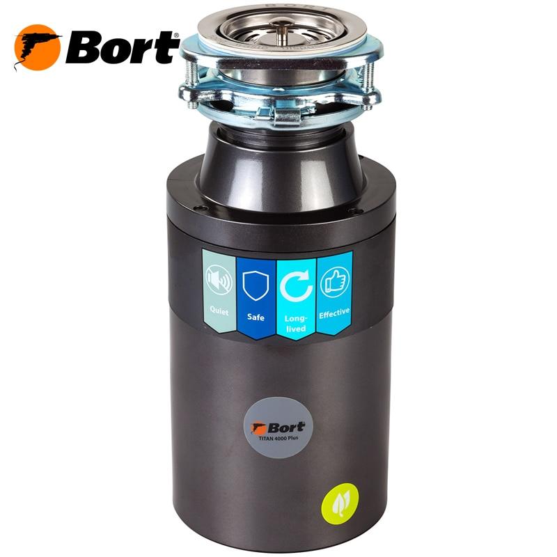Food waste disposer Bort TITAN 4000 Plus цена и фото