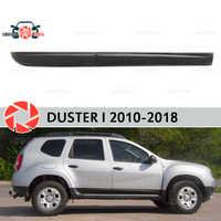 Molduras de porta para Renault Duster 2010-2018 guarnição de proteção acessórios decoração exterior car styling