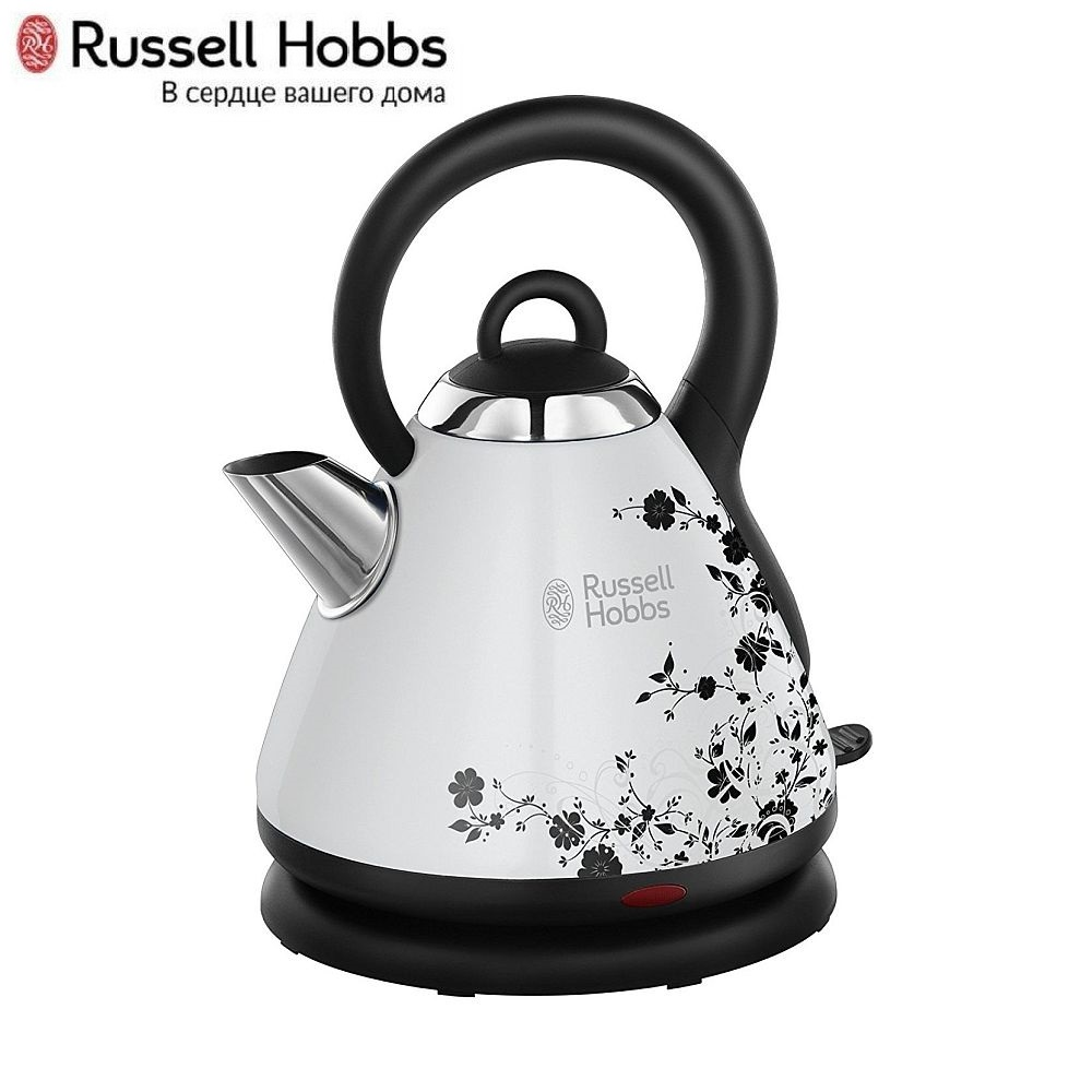Electric Kettle Russell Hobbs 21963-70 Kettle Electric Electric kettles home kitchen appliances kettle make tea Thermo цена