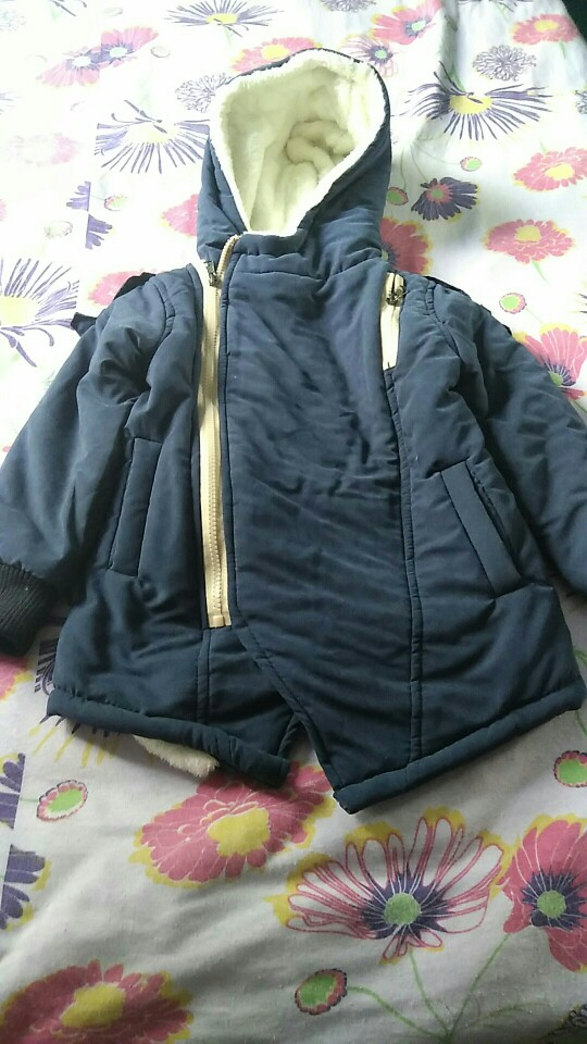 Boy's Winter Hooded Jacket photo review