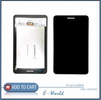 HTYTECH For Huawei Honor Play Mediapad T1 701 T1 701U LCD Screen With Touch Screen Free