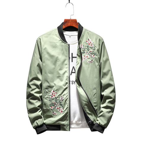 New Spring Autumn New  Jacket Men Fashion Casual Loose Mens Jacket Sportswear Bomber Jacket Mens jackets men and Coats Karachi