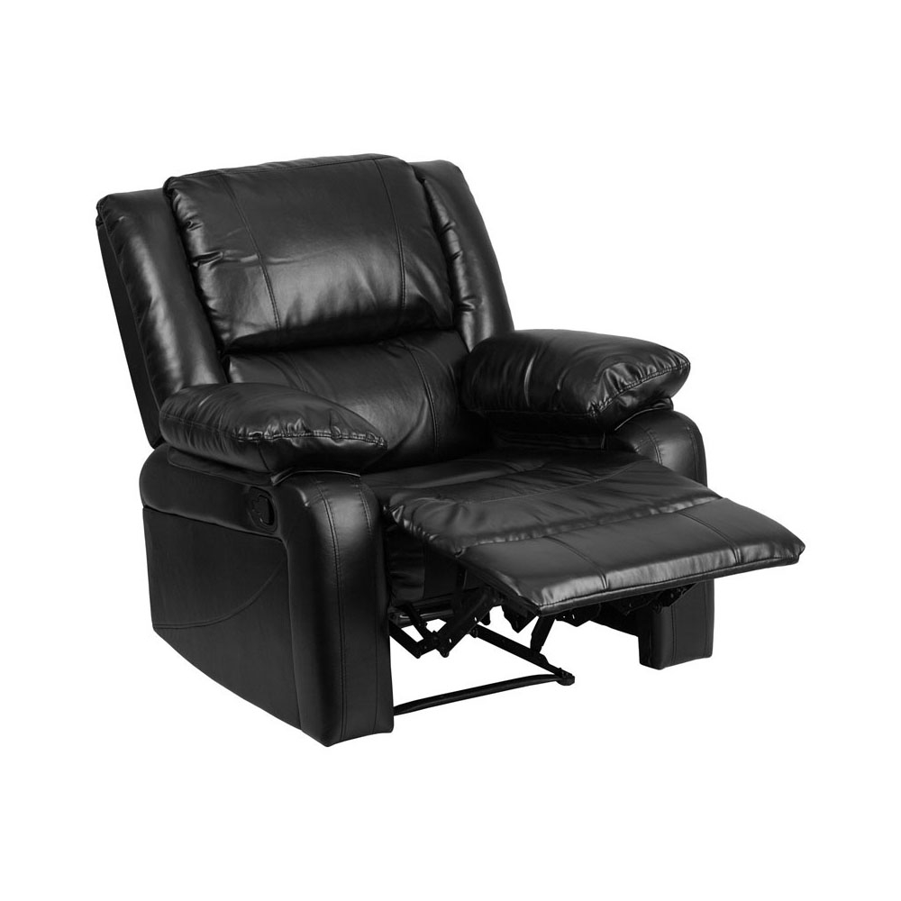 Flash Furniture Harmony Series Black Leather Recliner fifth harmony acapulco