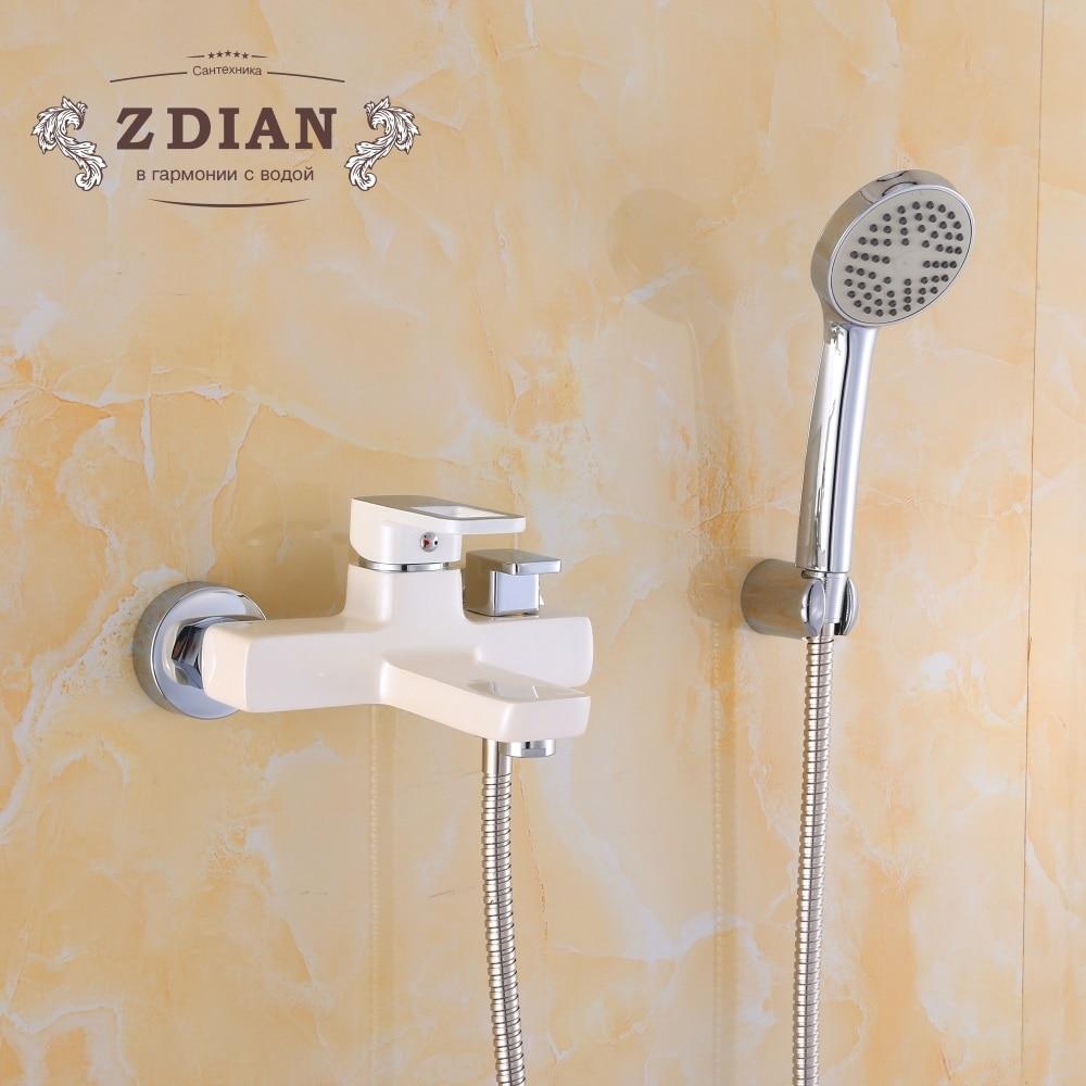 Bathroom Wall Mounted Hot & Cold Shower Mixer Valve Single Handle Bath Shower Faucet Basin Bathtub Mixer Tap Bathroom Wall Mounted Hot & Cold Shower Mixer Valve Single Handle Bath Shower Faucet Basin Bathtub Mixer Tap