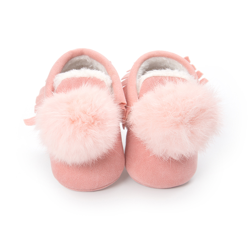 Fashion Cute Infant Baby Walking Casual Shoes Toddler Warm Short Boots Winter