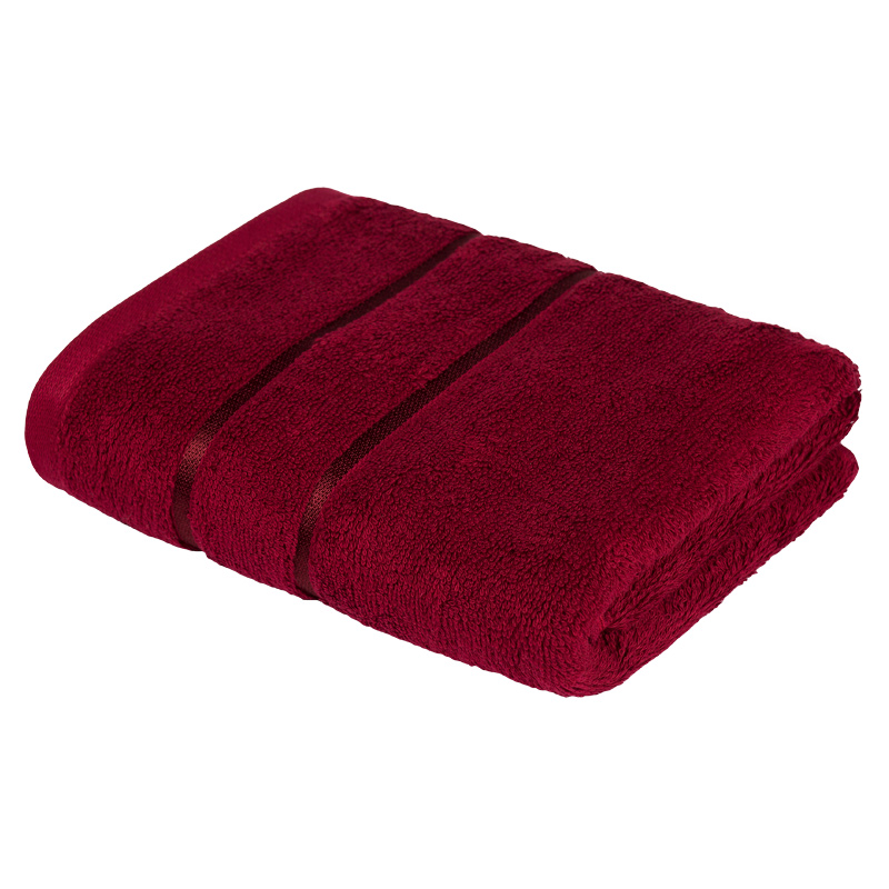 Towel Egyptian cotton Tibetial Red,  production of Ecotex, Russian companies. basic cotton towel 1pc