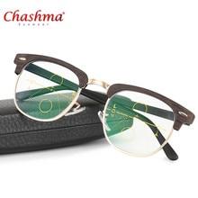 Alta calidad Unisex lente Multifocal progresiva gafas De lectura hombres  mujeres presbicia Hyperopia Bifocal gafas Oculos De Gra. 3776d6a194