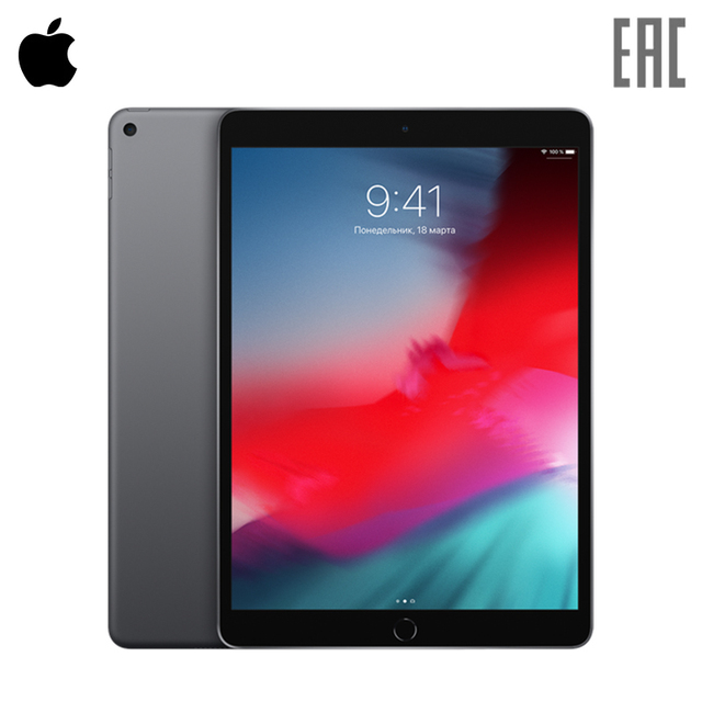"Планшет Apple iPad Air Wi-Fi 64GB 10.5"" Retina 2019"