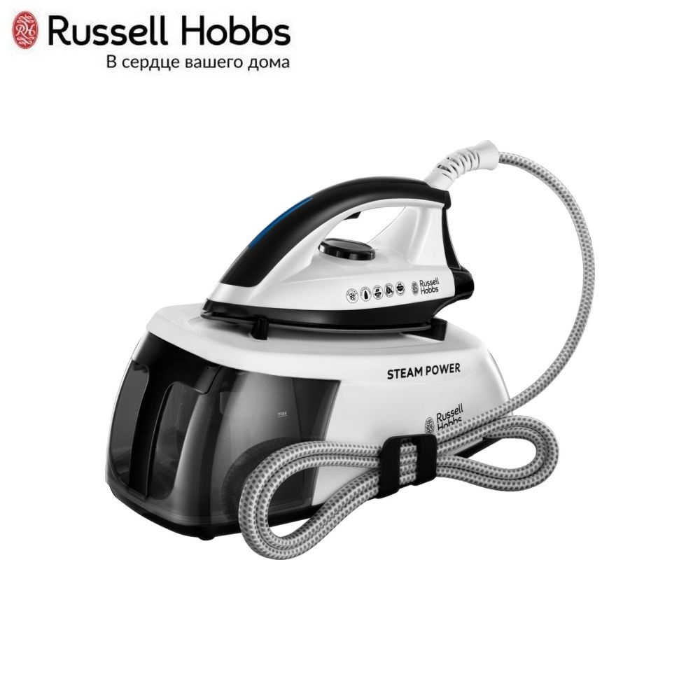 Steam Station Russell Hobbs 24420-56 Handheld Steamer for clothes Steam generator for home Steam Cleaner Home appliances Steamer vertical steam generator polaris pss 7505 k handheld steamer for clothes steam generator for home steam cleaner home appliances steamer