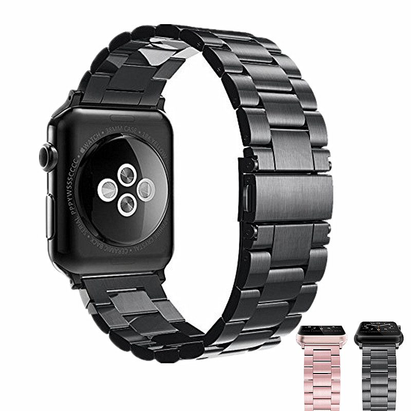 ASHEI Metal Watch Strap For Apple Watch 4 Band 44/40mm 42mm 38mm Stainless Steel Bracelet Watchband For iWatch Series 3/2/1 цена 2017