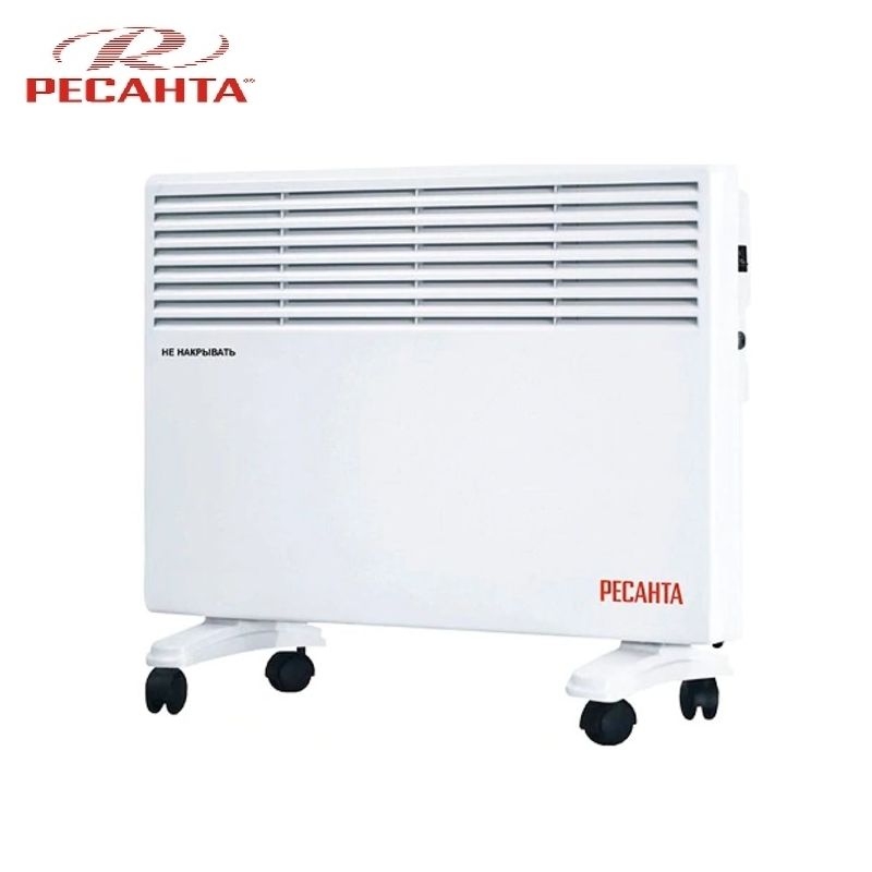 Convector RESANTA OK-1500E Heating device Electroconvector Forced convection heater Wall-hung convector Mechanical converter convector resanta ok 1000