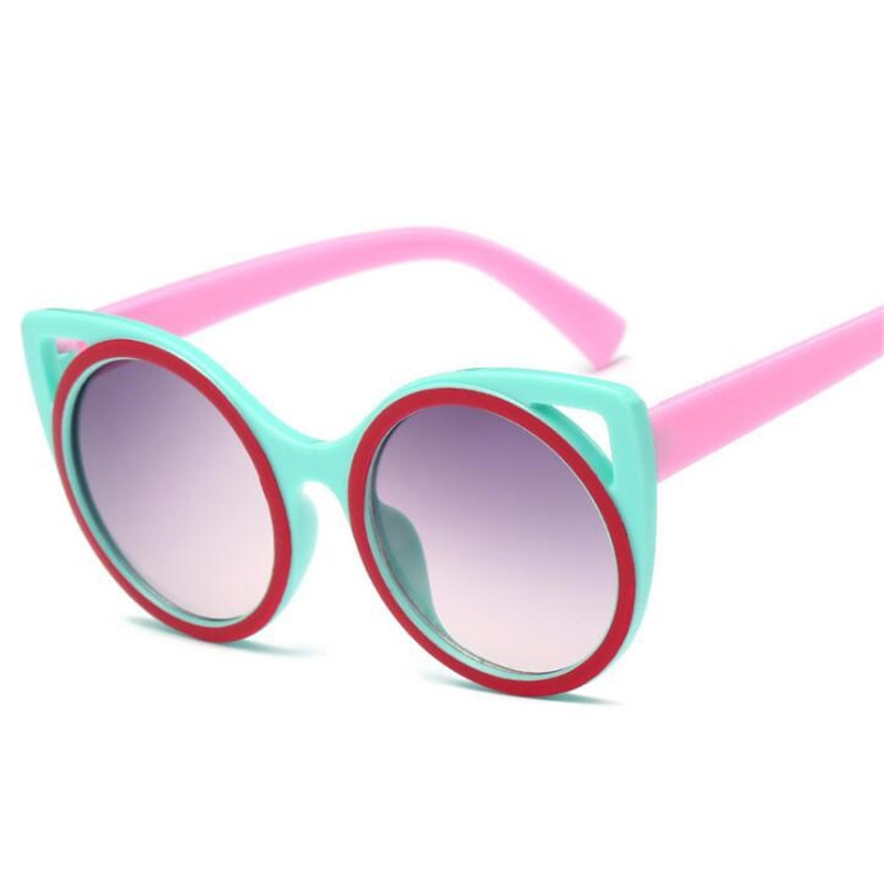Girl's Sunglasses Hearty Zxtree Fashion Kids Cat Eyes Sunglasses Girl Top Coating Vintage Baby Boy Glasses Children Sun Glasses Oculos De Sol Uv400 Z254 Apparel Accessories