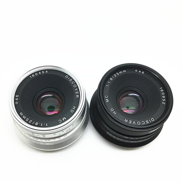 25mm / F1.8 Prime Lens to All Single Series for E Mount /FX for Micro 4/3 Cameras A7 A7II A7R XT10 XT20 XE2 XA3 EPL8 EM10II