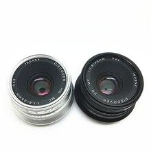 25 мм/F1.8 объектив с фиксированным фокусным расстоянием для всех одной серии для E крепление/FX для Micro 4/3 камер A7 a7II A7R XT10 XT20 XE2 XA3 EPL8 EM10II