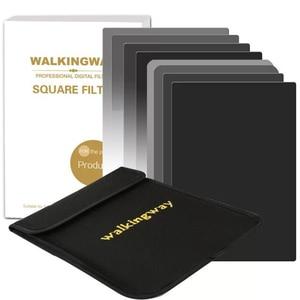 Walking Way 150*100mm Camera Square filter kit set ND2 ND4 ND8 ND16 Netural Density ND filter for DSLR Cokin Zomei HOYA Nisi(China)