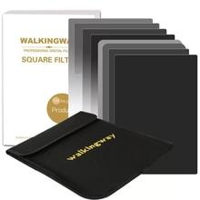 Walking Way kit de filtros cuadrados para cámara ND2 ND4 ND8 ND16, filtro ND de densidad Netural para DSLR Cokin Zomei HOYA Nisi, 150x100mm