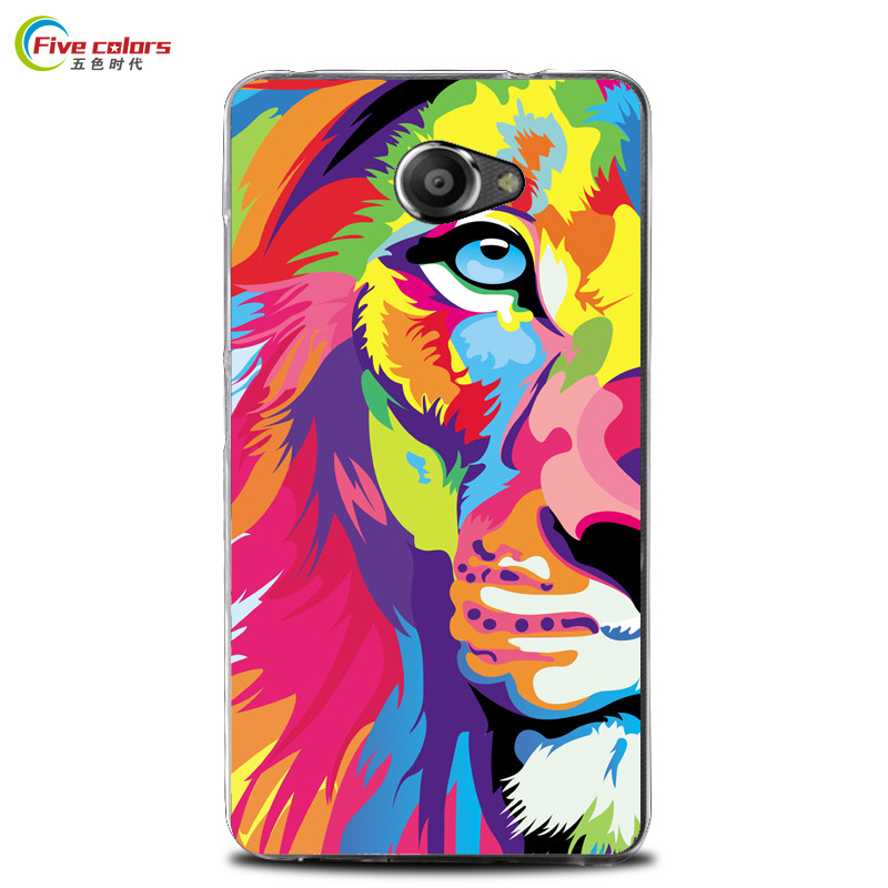 Vodafone Smart Ultra 7 Case Cover Soft Silicone TPU Back Cover Phone Case For Vodafone Smart Ultra 7 VDF700 Color Painting Bag