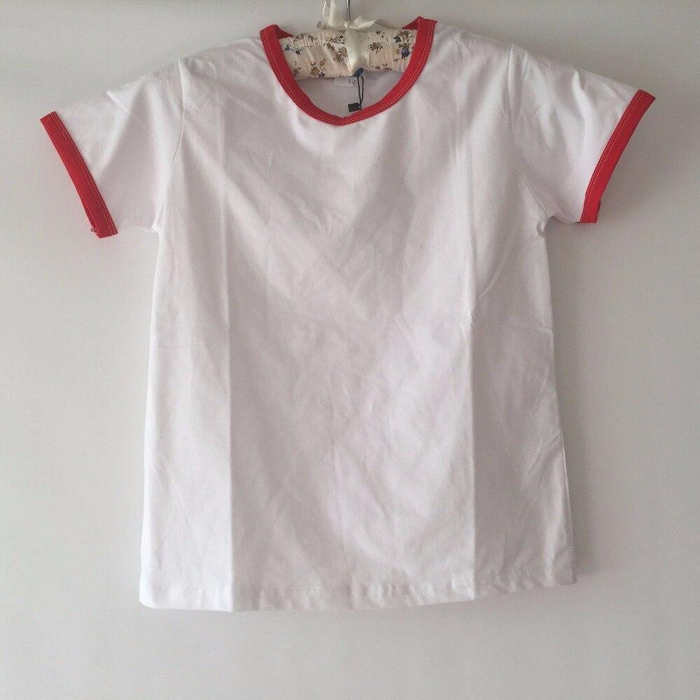 Custom print t shirt kids tops for girls short sleeve t for Custom kids t shirts