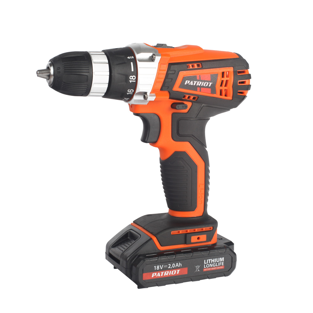 Cordless Drill/Driver PATRIOT THE ONE BR 181Li