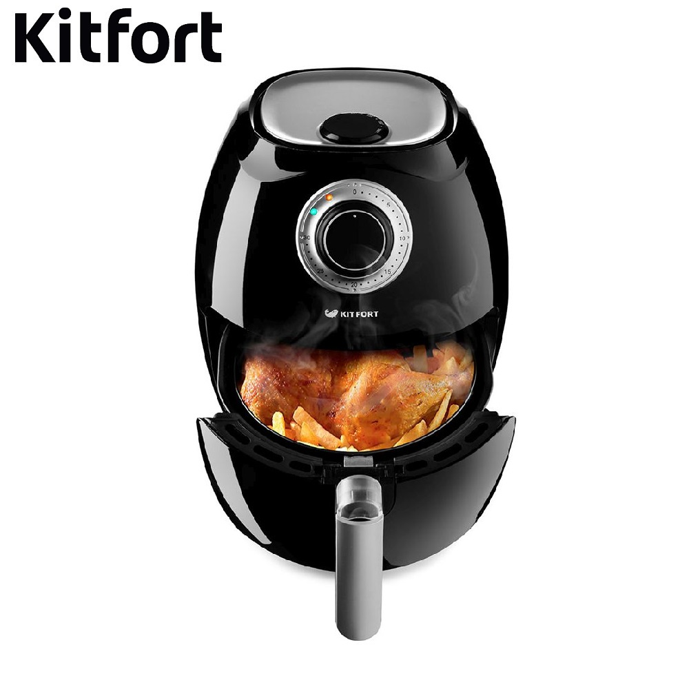Aerogrill for kitchen KITFORT KT-2201 Deep Fryer frying fries home grill fries