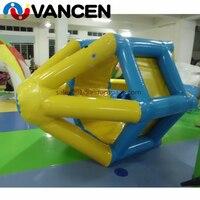Специальная водная игра надувной валик для плавания колесо для бассейна аквапарк высокого качества ПВХ надувные водные игрушки для продаж