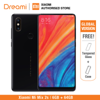 Global Version Xiaomi Mi Mix 2S 64GB ROM 6GB RAM (Official Rom) mix2s 64gb