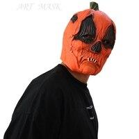 Máscaras de Halloween al por mayor de casas encantadas, fantasma agujeros gotas de sangre de cine y televisión apoyos máscaras de látex película de terror hea