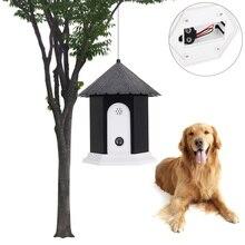 Pet Dogs ультразвуковой тренажер наружный ультразвуковой собачий Кора контроллер устройство против лай Глушитель Пробка принадлежности для дрессировки животных