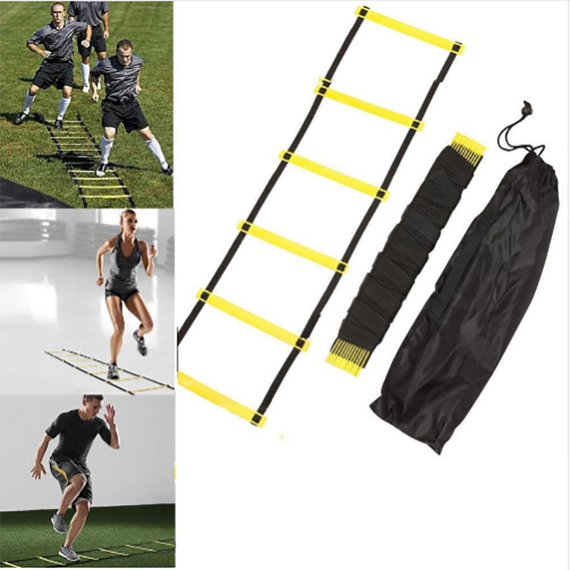 6/8/10 High-speed Staircase Football Training Sports Ladder Nylon Straps Training Stairs Agility Ladder Soccer Sports Equipment