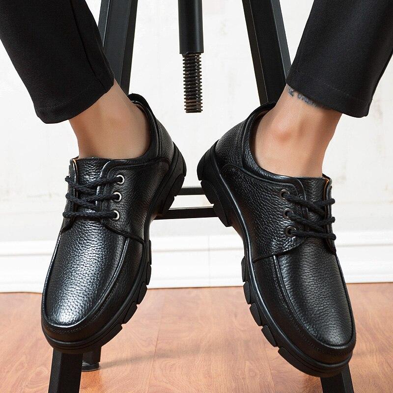 8295eb458b53a8 D'affaires Taille Luxe Grande Formelle 5 De Hommes Pour Mens Chaussures  Véritable Cuir Robe Nouvelle ...